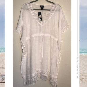 Target Cover2Cover White Bohemian Cover Up sz S